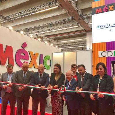 VAN A FERIA DE TURISMO DE NEGOCIOS: Participa México en el IMEX Frankfurt 2019