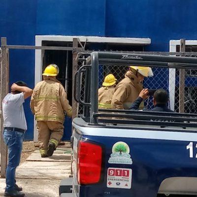 Bomberos de Chetumal logran controlar incendio en una vivienda que fue causado por una veladora