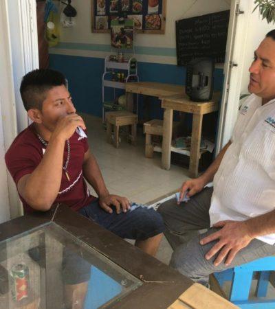Ismael Sauceda se compromete a impulsar la municipalización de predios en la colonia Cristo Rey