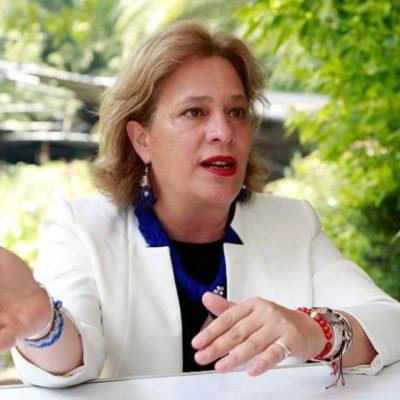Acepta AMLO renuncia de Josefa González Blanco a Semarnat por retrasar un vuelo