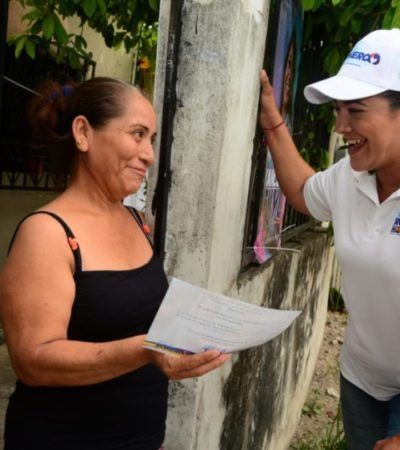 Karla Romero exhorta a los ciudadanos a informarse y conocer quiénes son los candidatos a diputados