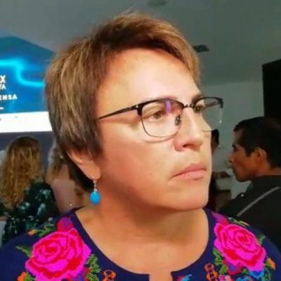 """""""ESPERO QUE VAYA DE BAJADA… PARA QUE DESCANSEMOS TANTITO"""": Acepta Laura Beristain que recale de sargazo ya les rebasó"""