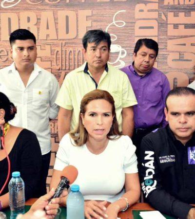 Apuesta Lili Campos por el Mando Único; critica al gobierno de Solidaridad