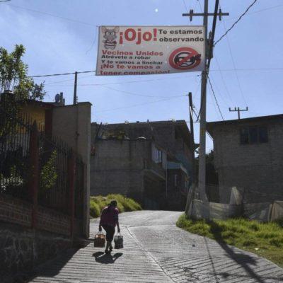 Encabezaron casos de linchamientos Puebla, Edomex y Tabasco durante 2018