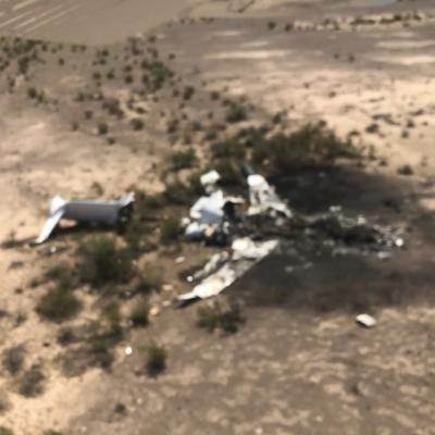 Localizan restos del jet desaparecido en Coahuila, volvía de Las vegas a Monterrey; habrían 14 muertos