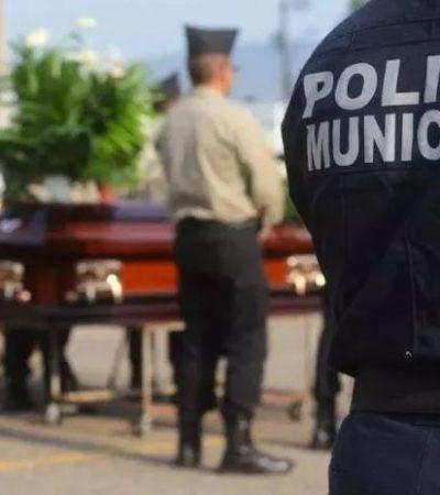 Matan a cinco policías a la semana en México; suman 116 ejecuciones de diciembre a abril
