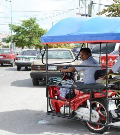 """""""LO QUE QUEREMOS ES TRABAJAR"""": Piden dirigentes de mototaxis a la Dirección de Tránsito de BJ que no les quiten sus unidades por carecer de concesión"""