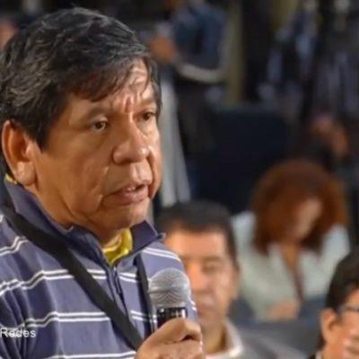 ROMPE RÉCORD REPORTERO DE TULUM EN LA MAÑANERA DE AMLO: Durante más de 11 minutos, Héctor Valdez denuncia hostigamiento para realizar su labor