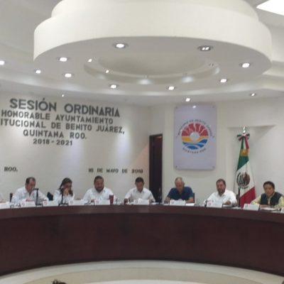 Aprueba Cabildo de BJ el Mando Único y confirman cambio del jefe policiaco Jesús Pérez Abarca; Eduardo Santamaría, el sustituto