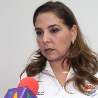 """""""ES PRUEBA Y ERROR"""": Afirma Mara Lezama que acciones y estrategias para contener el sargazo han sido experimentales por ser un fenómeno nuevo"""