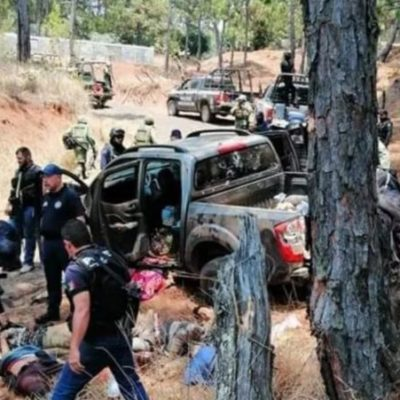 IMPARABLE VIOLENCIA EN MICHOACÁN: Deja 10 muertos enfrentamiento entre bandas rivales en Uruapan