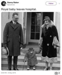 Despide BBC a locutor por tuit racista sobre el bebé de los duques de Sussex