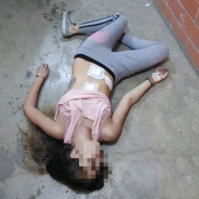 Sorprenden a sujetos cuando iban a tirar el cuerpo de una mujer porque 'se murió'; ya están detenidos