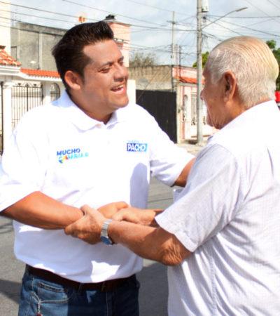 """""""Políticos del pasado quieren volver disfrazados de otra playera, con otro color, pero no lo vamos a permitir"""", asegura Eduardo Pacho"""