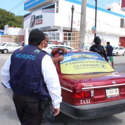 En ilegalidad opera y multa el Instituto de Movilidad a taxistas de Playa del Carmen, denuncian