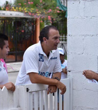 Carlos Orvañanos se compromete con el impulso a negocios locales