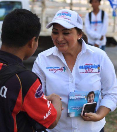 """""""Vamos por viviendas dignas y a precios justos"""", plantea Eugenia Solís"""