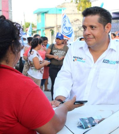 Políticos corruptos una amenaza ciudadana, dice Eduardo Pacho