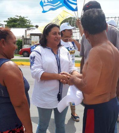Se compromete Rocío González a impulsar proyecto para industrialización de la piña