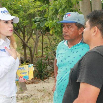 Dice Fátima Garnica que propondrá iniciativas de ley para amas de casa y gestionará recursos para el auto empleo