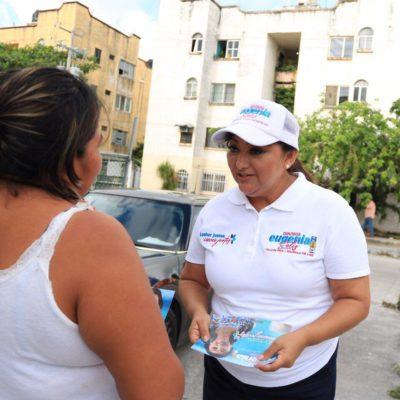 """""""VAMOS A LLEVAR SU VOZ AL CONGRESO"""": Ofrece Eugenia Solís legislar a favor de que se otorguen más apoyos a las madres solteras"""