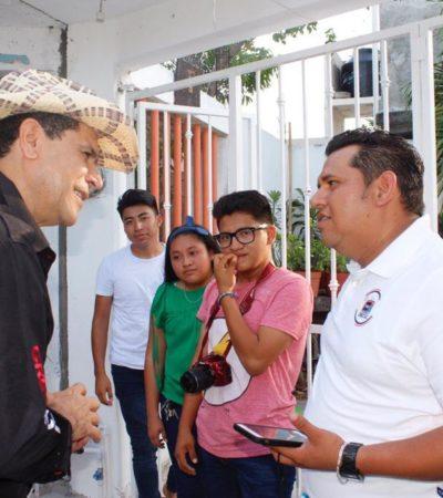 Con leyes dignificaremos las escuelas en Cancún: Greg