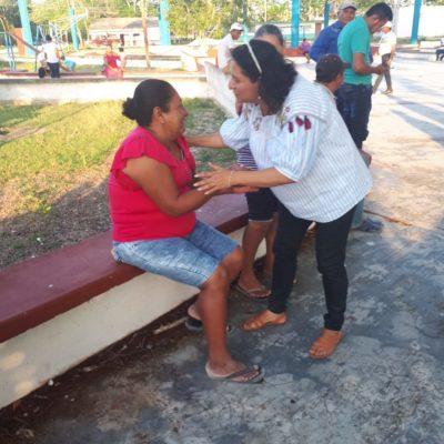 Asegura Rocío González que gestionará más gasto público para desarrollo social