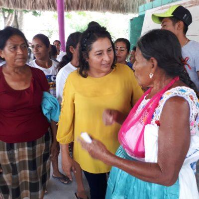Rocío González asegura que legislará para fortalecer el desarrollo de los pueblos originarios con respeto a su autonomía, usos y costumbres
