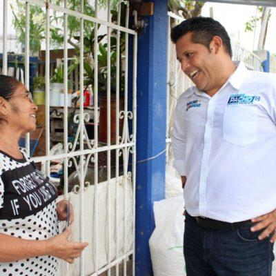 Dice Eduardo Pacho que desde el Congreso trabajará para mejorar la vida de ciudadanos