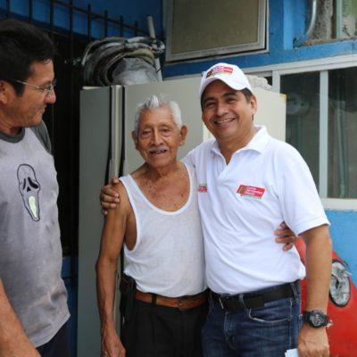 """""""Cada vez somos más los que vamos unidos por Cozumel"""", dice Carlos Hernández Blanco"""