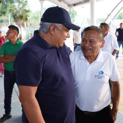 Ofrece Pedro Pérez gestionar la rehabilitación y construcción de centros de salud en la Zona Maya