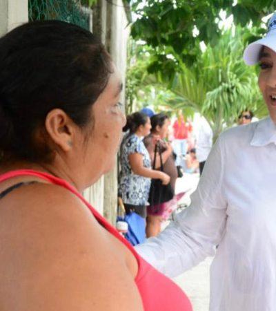 """""""Si trabajamos juntos, podemos hacer grandes cambios en Cancún"""", asegura Karla Romero"""