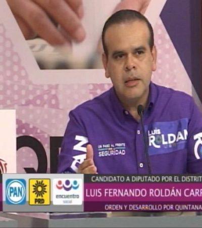"""""""SOLIDARIDAD TIENE QUE VOLVER A SER EL MEJOR LUGAR PARA VIVIR"""": Dice Luis Roldán que Playa tiene que ser seguro"""