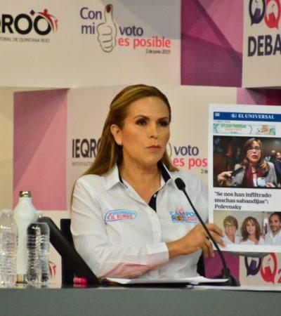 Ganamos el debate y ganaremos la elección, asegura Lili Campos
