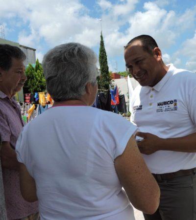 Mauricio Delfín asegura que no dejará en el olvido a los ciudadanos