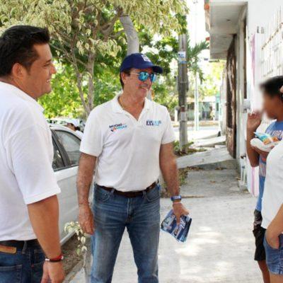 Pide Eduardo Pacho un voto de confianza para hacer la diferencia este 2 de junio