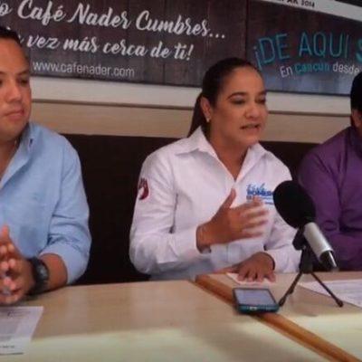 """""""A la gente no se le gana caminando, se le gana trabajando con hechos y resultados"""", advierte Karla Romero"""