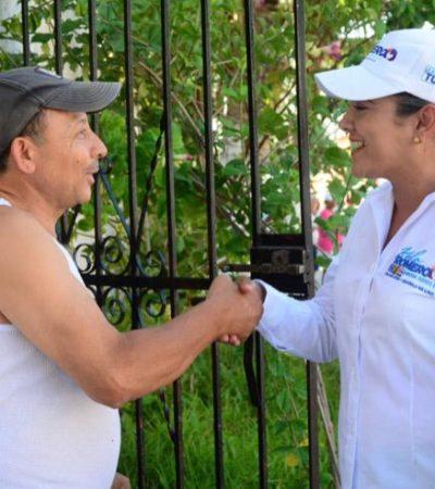 """""""Si queremos un mejor Cancún, debemos comenzar por hacer cambios adecuados"""", dice Karla Romero."""