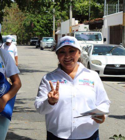 Asegura Eugenia Solís que sus propuestas surgen de la propia ciudadanía