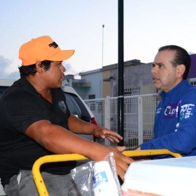 Solidaridad y Tulum, demandan orden y desarrollo para seguir siendo tierra de oportunidades y progreso, advierte Luis Roldán