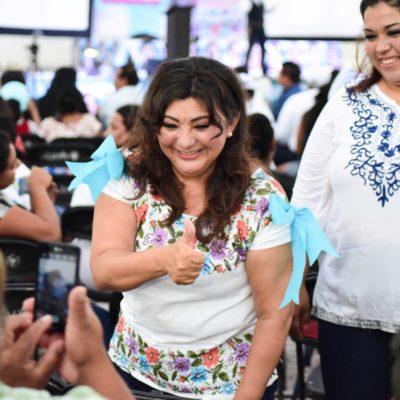 Seguridad y crecimiento ordenado, prioridades para Cancún, dice Eugenia Solís