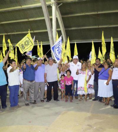 Pedro Pérez confía en un triunfo contundente en la Zona Maya para ser 'gestor permanente' desde el Congreso