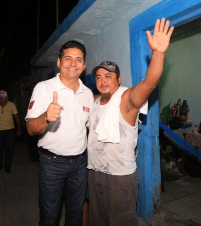 """""""Estamos muy cerca de volver a tener el Cozumelque añoramos"""", anticipa Carlos Hernández Blanco; pide a la población salir a votar el domingo"""