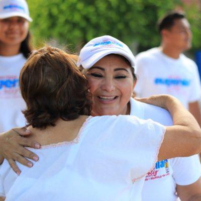 Puerto Morelos es una joya que tenemos que cuidar, advierte Eugenia Solís