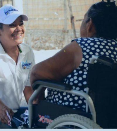 """""""Quiero trabajar junto a los ciudadanos para rescatar este destino turístico"""", asegura Karla Romero en su último día de campaña"""