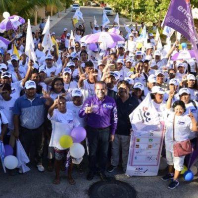 En cierre de campaña, Luis Roldán asegura que con el voto ciudadano, será el próximo diputado del Distrito 9