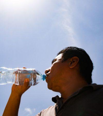 Piden tomar medidas preventivas en Puerto Morelos por la temporada de calor