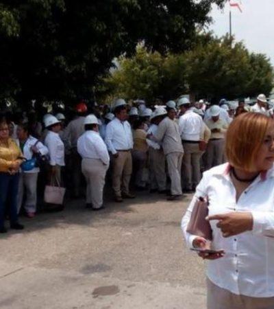 Desalojan 'Complejo Pajaritos' por presunta amenaza de bomba; Pemex activa protocolos
