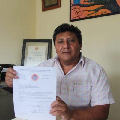 Alfonso Balam Helguera renuncia a dirigencia de la CTM en Lázaro Cárdenas