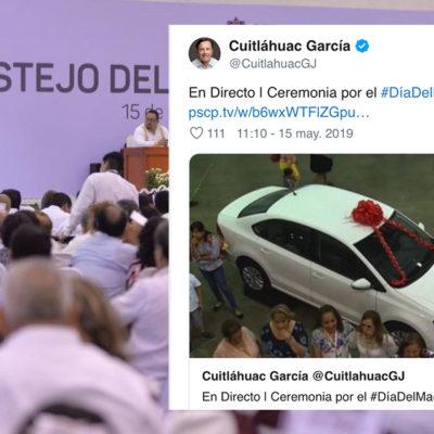 Desata gobierno de Veracruz críticas en su contra por 'magno' festejo a maestros